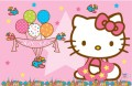 Painel Infantil Decorativo Lona Hello Kitty 1,80 M X 1,20 M